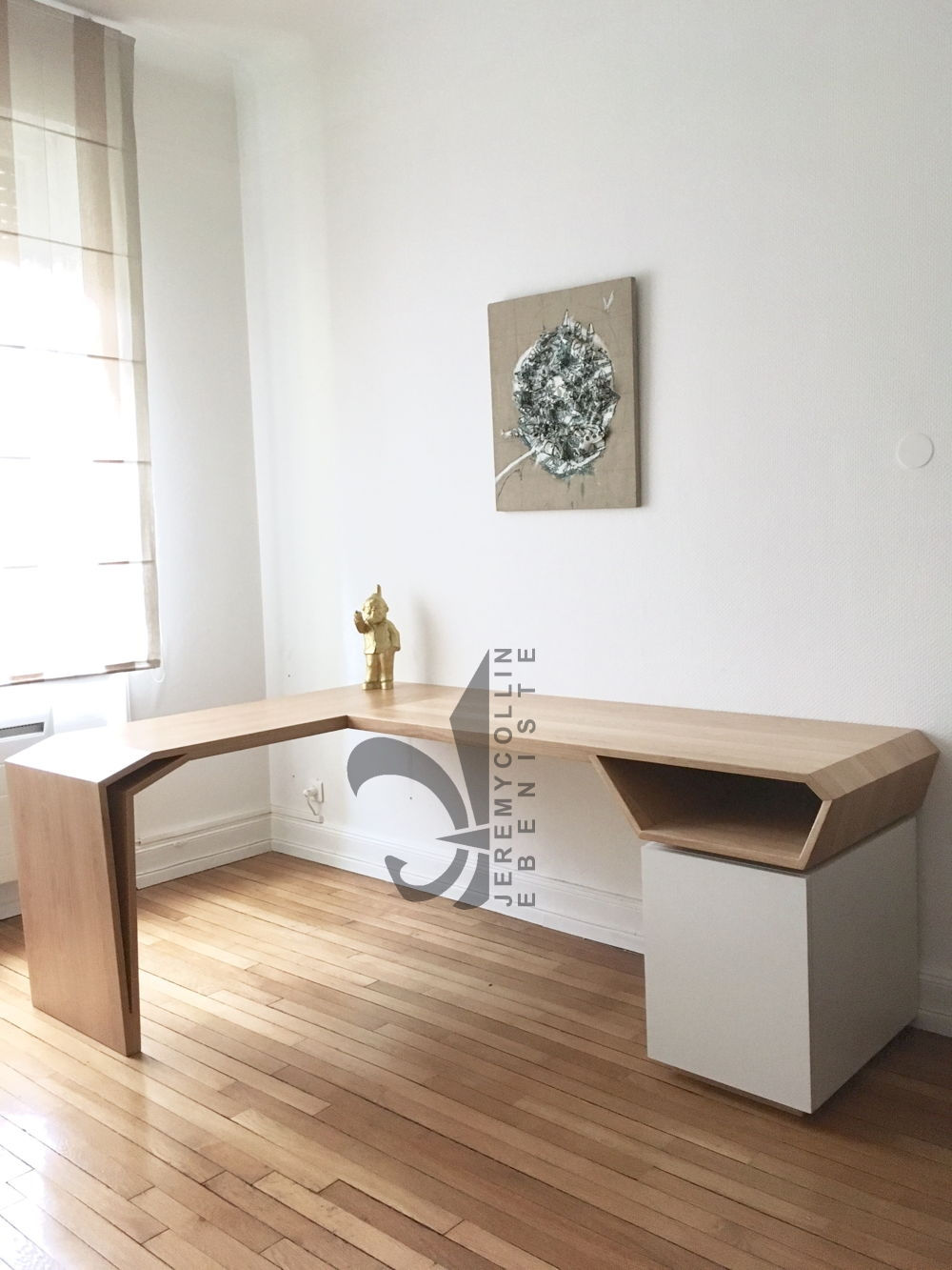 Jeremy collin ebeniste cr ateur metz nancy meuble for Meuble bureau nancy